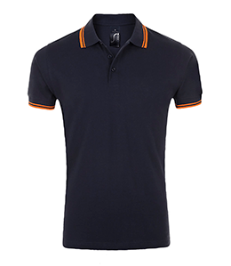 navy polo bedrukken